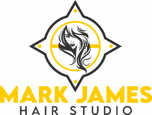 The Mark James Hair Studio logo
